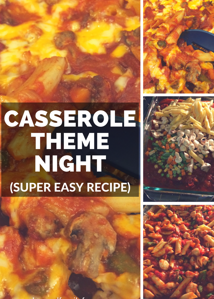 Casserole Theme Night